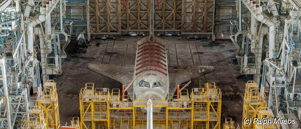 Inside the graveyard of the USSR's space shuttle program