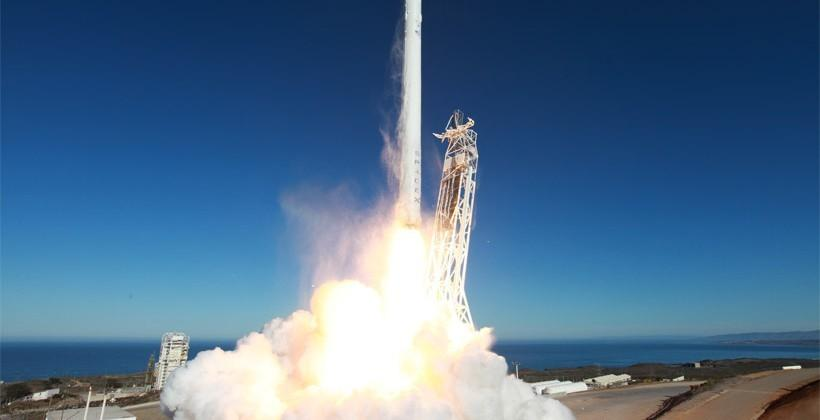 SpaceX GoPro shows the calmer side of a rocket launch