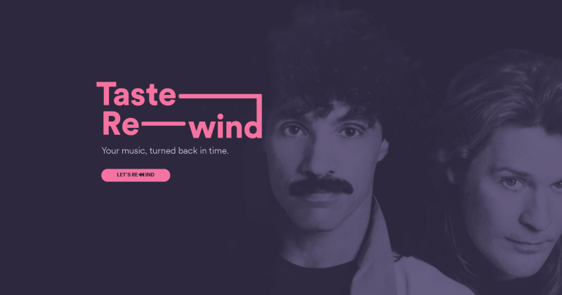 """Spotify """"Rewind"""" takes playlists back through time"""