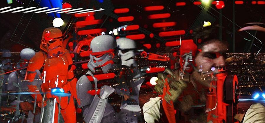 Every Star Wars movie blended together: 1 video, 288 still frames