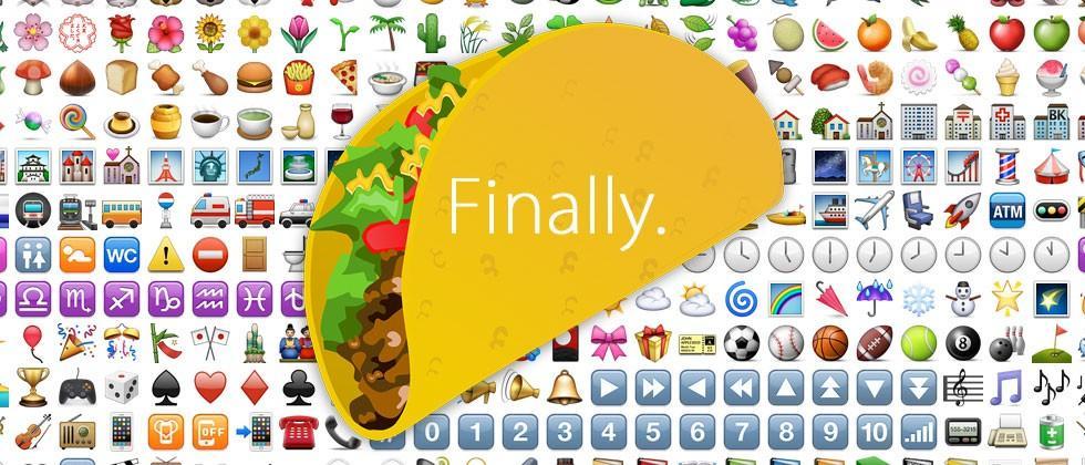 Emoji alert: Tacos, Hot Dogs, Unicorns appear with Unicode 8.0