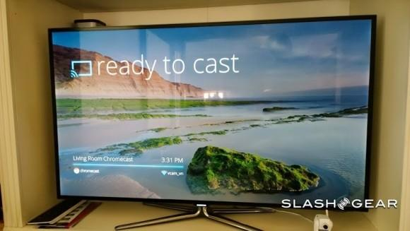 Google Slides gains Chromecast support