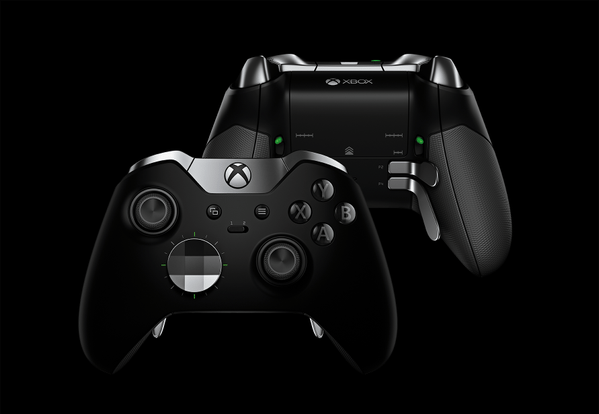 Xbox Elite Wireless Controller detailed
