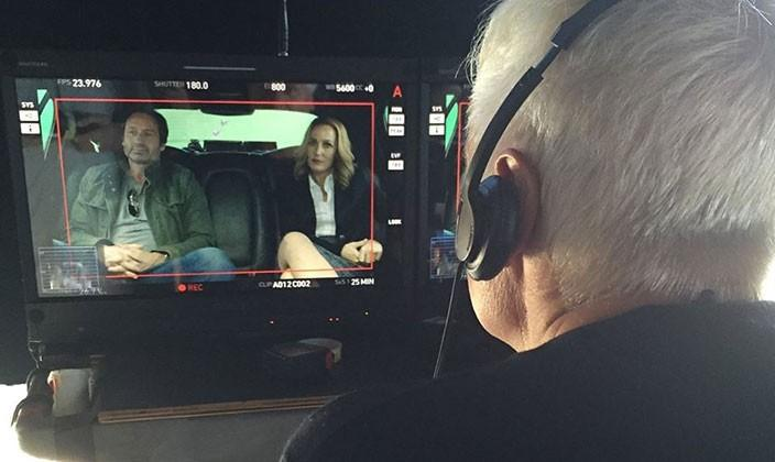 Your first look at Mulder and Scully in the X-Files reboot