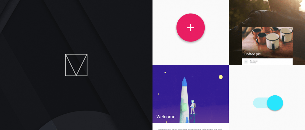 Material Design Lite web framework brings style to websites