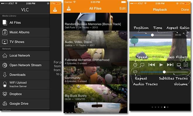 VLC for iOS update turns Apple Watch into remote control, media browser