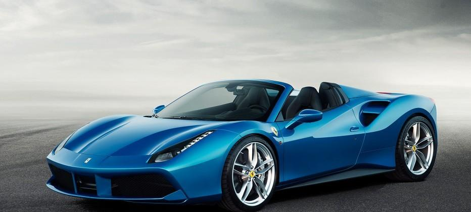 Ferrari 488 Spider unveiled with 661HP, 203 mph top speed