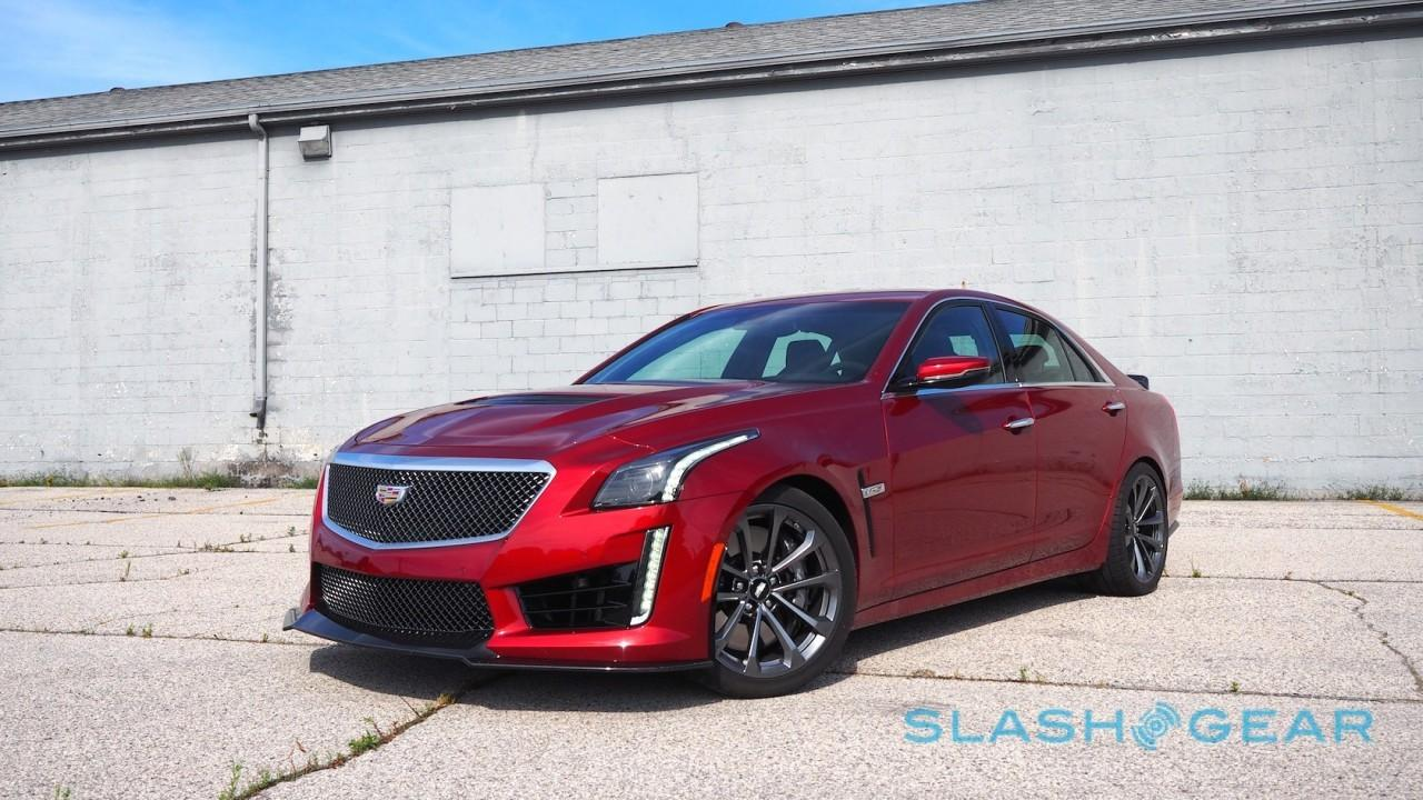 Cadillac Cue Software Update >> 2016 Cadillac CTS-V First Drive – 640 all-American horses ...