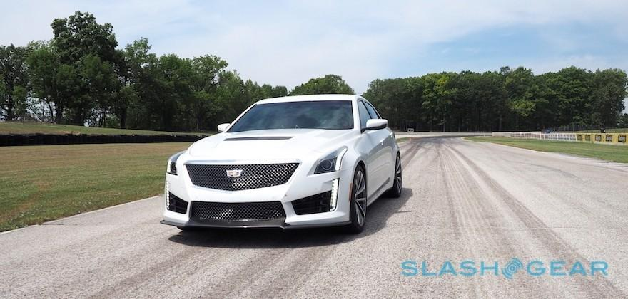 2016 Cadillac CTS-V First Drive – 640 all-American horses