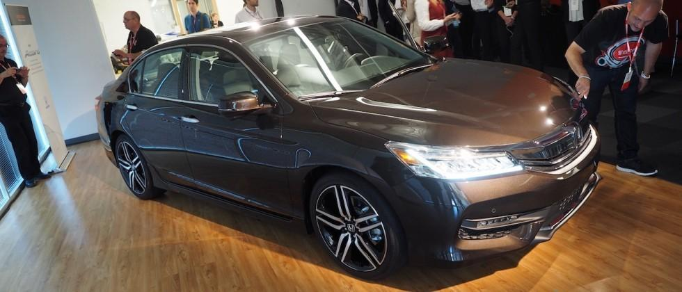 2016 Honda Accord revealed with CarPlay and Android Auto