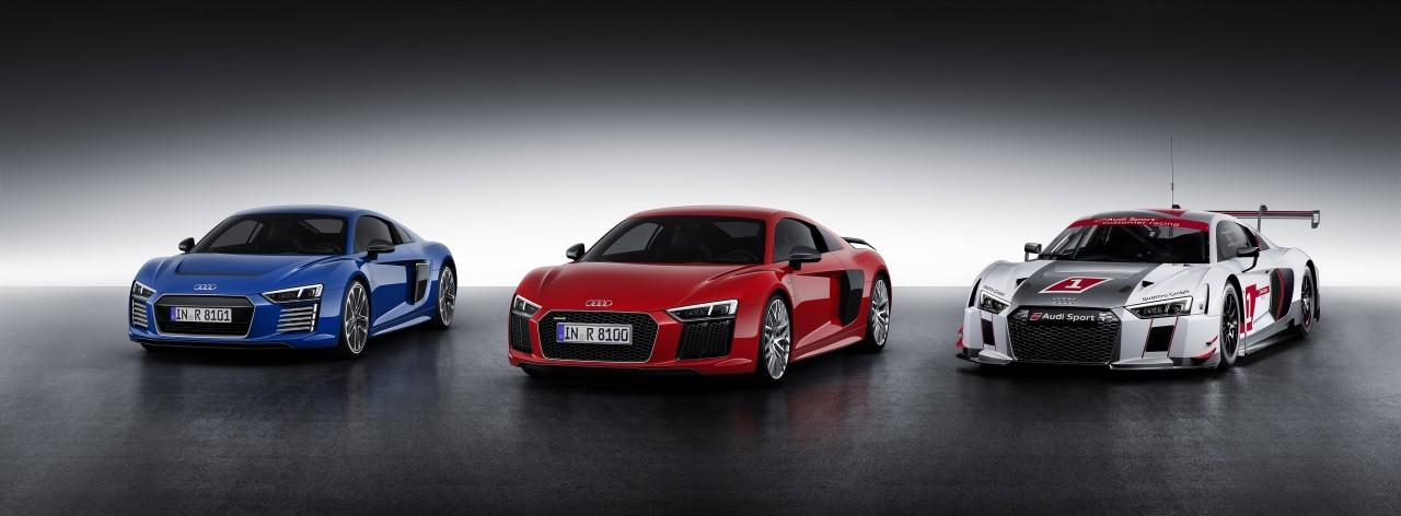 Audi R8 and LMS family