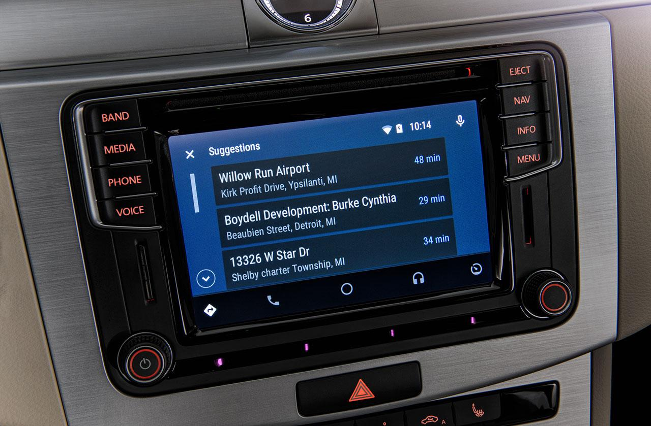 These VW Android Auto and CarPlay cars are in showrooms now