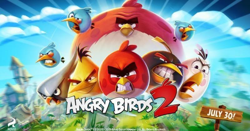 Angry Birds 2 arrives on July 30