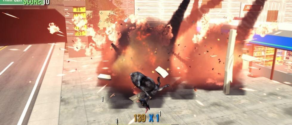 Goat Simulator arrives on PlayStation next month