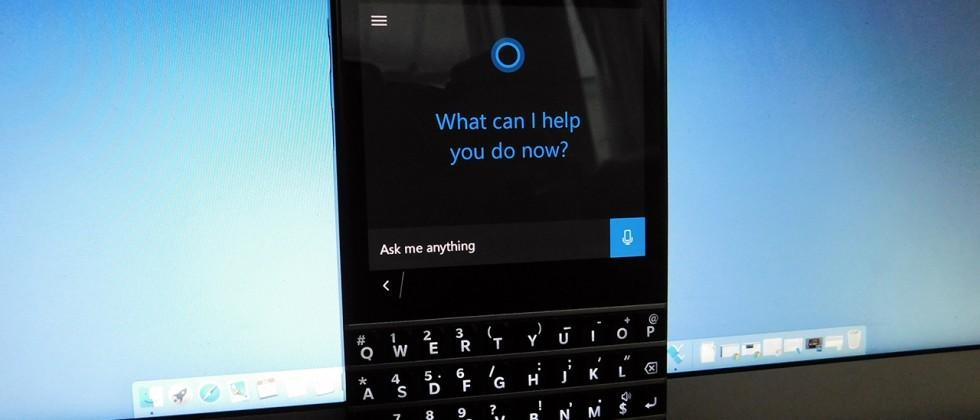 Cortana for Android leaked early, so we put it on a BlackBerry