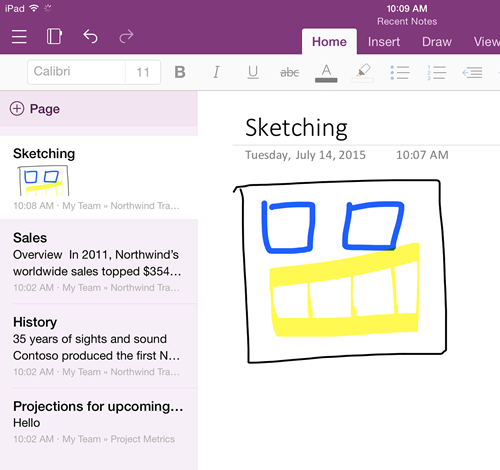 OneNote apps updated: iOS goes universal, Android gets easier page moving