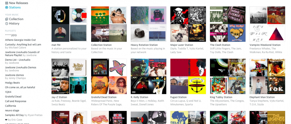 Rdio launches new curated stations in response to Apple's Beats 1