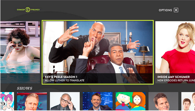 Roku scores Comedy Central channel with full episodes