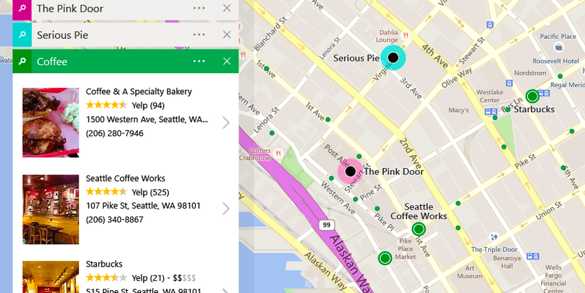 Bing Maps: big redesign brings predictive routing, more features