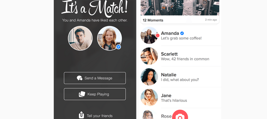Tinder adds Verified Profiles for its well known users