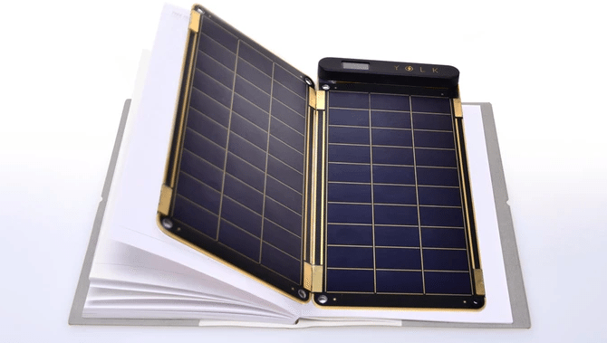 Solar Paper is a paper-thin solar charger