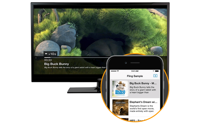 Amazon Fling takes on Google casting: share media with Fire TV