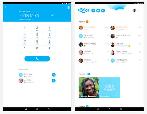 Skype for Android updated to v5.5: easier sign-ins and more