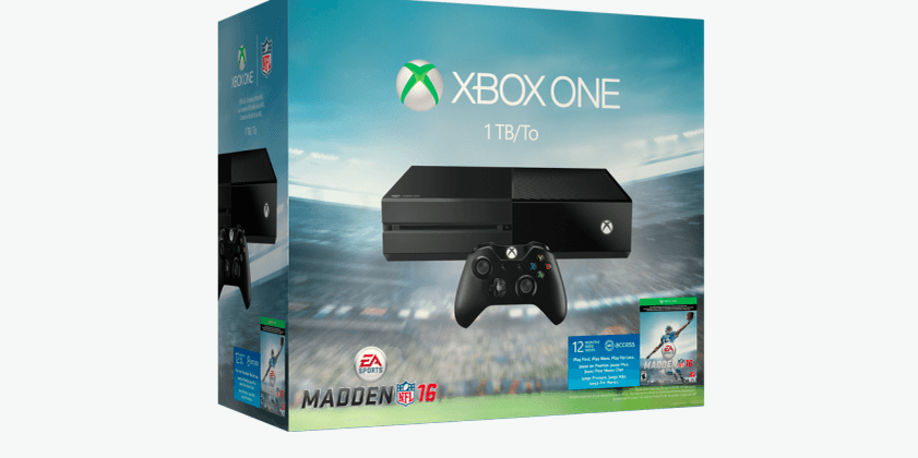 Xbox One Madden NFL 16 Bundle goes up for pre-order