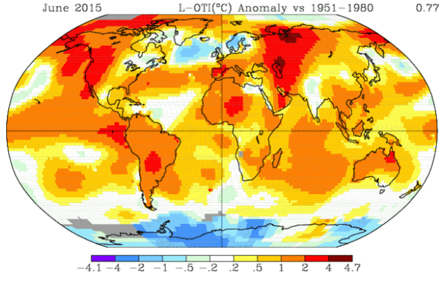 2015 isn't over yet, but it's already breaking heat records