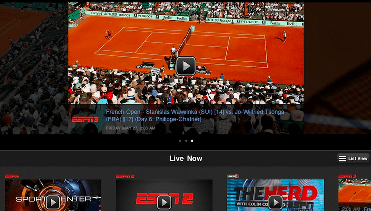 ESPN's (possible) future: direct subscriptions, no cable required