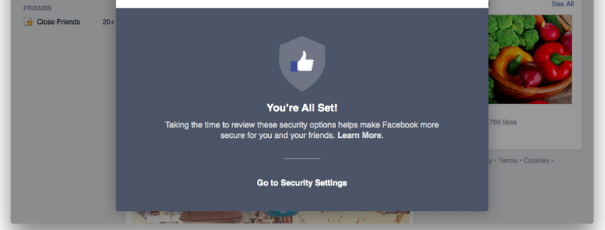 Facebook's Security Checkup tool officially launched