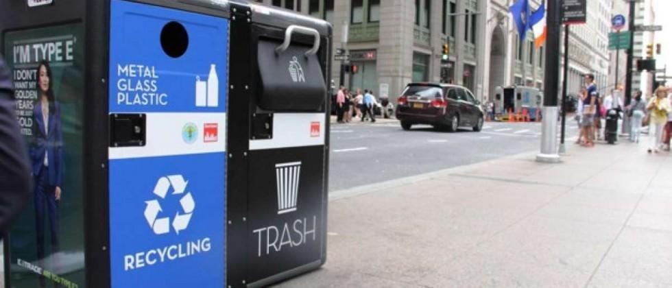 NYC waste company to turn trash bins into WiFi hotspots