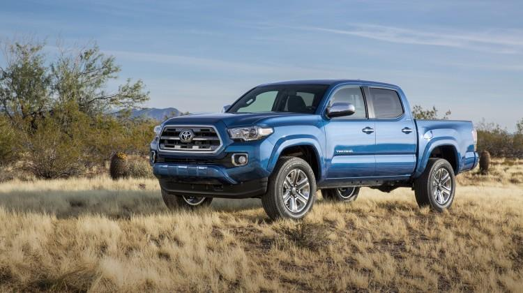 2016 Toyota Tacoma will include a built-in GoPro mount
