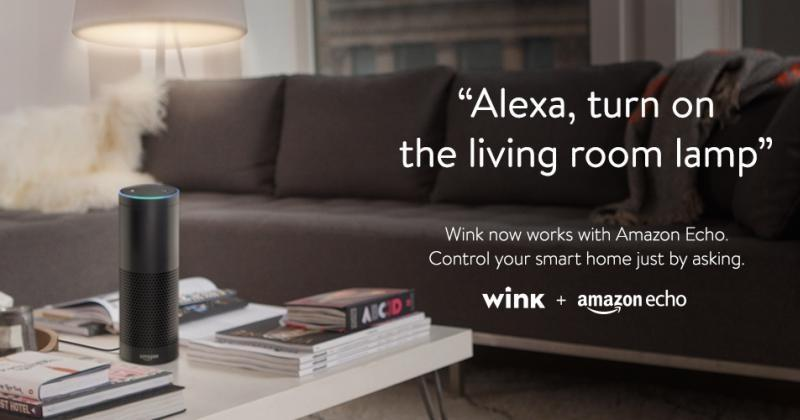Amazon Echo can now control your lights thanks to Wink