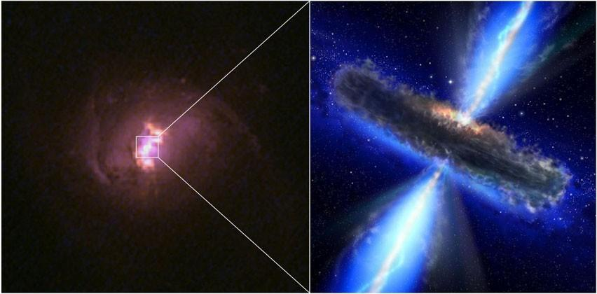 NuSTAR uncovers five new black holes and a galaxy full of potential