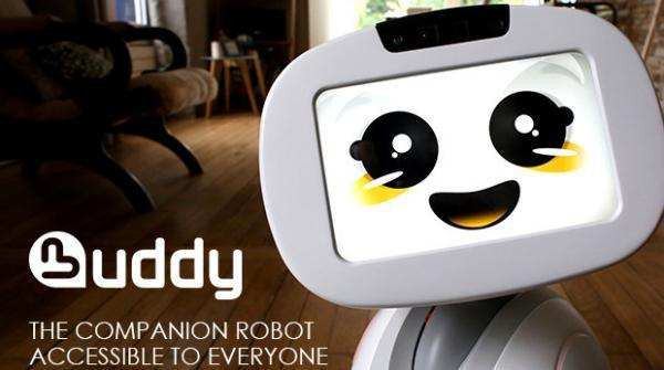 BUDDY robot is your family pet, guard, nanny, and more