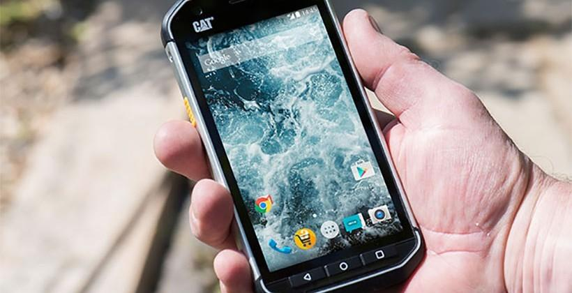 Cat S40 rugged smartphone aims directly at outdoor workers