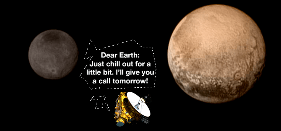 As New Horizons passes Pluto, 22-hours of silence