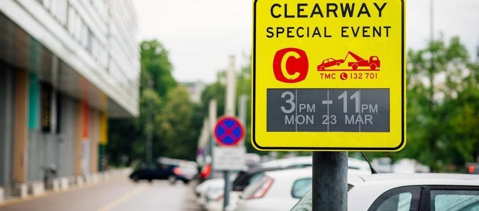 E-ink traffic signs debut in Australia