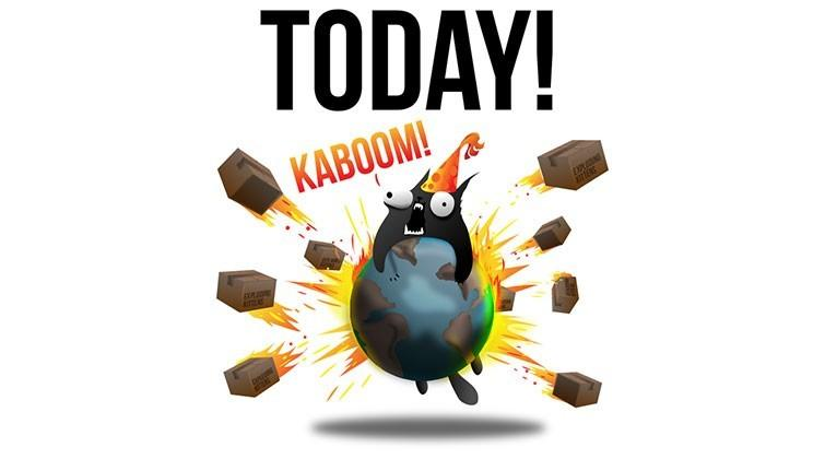 Exploding Kittens shipping today