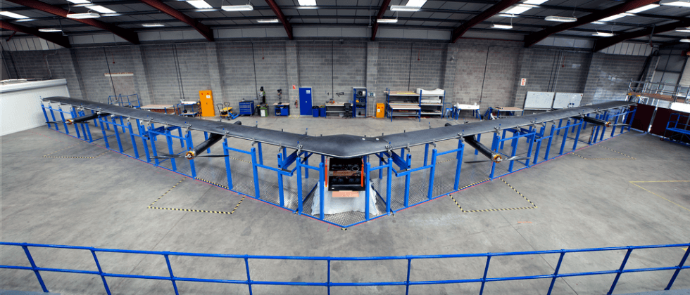 Facebook's Aquila drone ready to fly, laser Internet soon