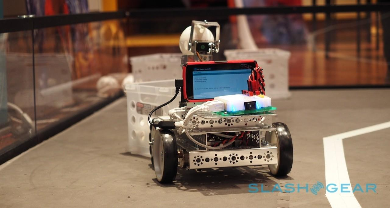 FIRST FTC Qualcomm Android robot