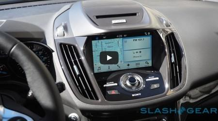 Video: Hands-on of Ford SYNC 3 on the 2016 Ford Escape