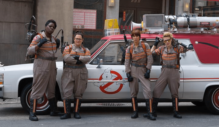 Official Ghostbusters all-female cast team photo revealed