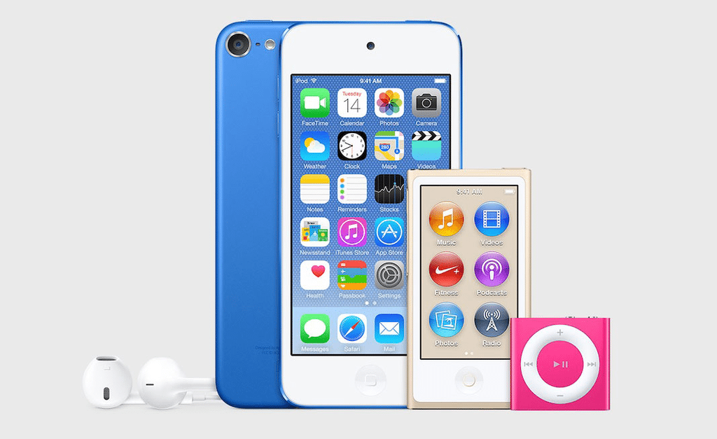 iTunes 12.2 update hints at iPod refresh with new colors