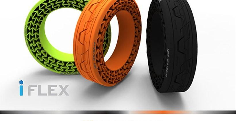 Hankook iFlex performance tires need no air