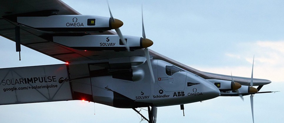 Solar Impulse battery problems ground plan until 2016