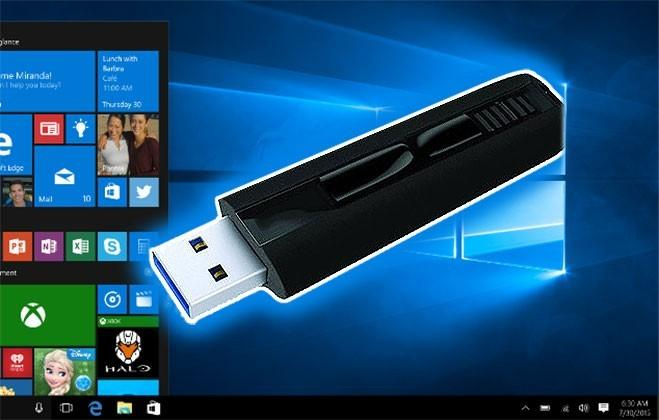Windows 10 guide to downloading and loading from a USB stick