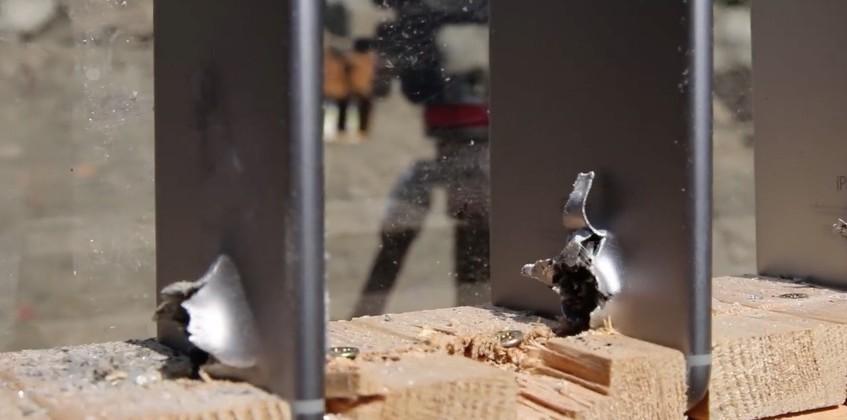 Watch an AK-74 bullet travel through more than 5 iPhones