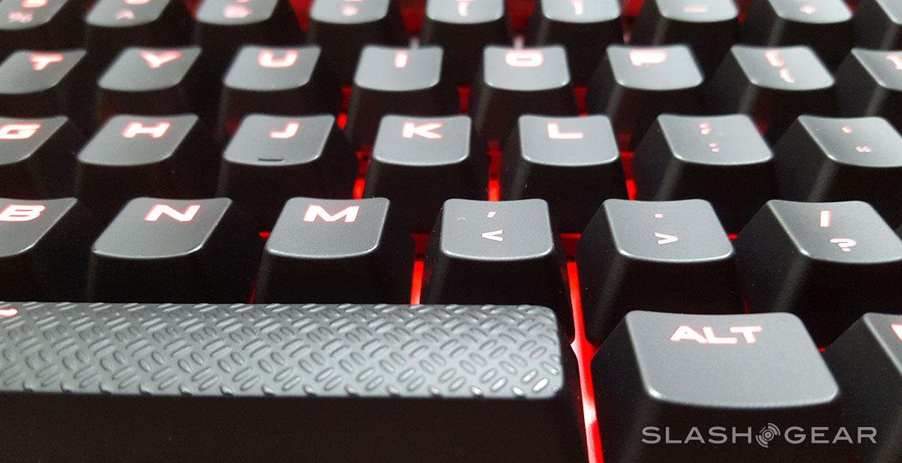 Corsair Strafe Mechanical Keyboard mini-Review - SlashGear